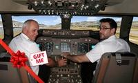 Jet Flight Simulator: 30 ($77), 45 ($107) or 60 Minutes ($137) at 747 Flight Sensation, Malaga (Up to $299 Value)