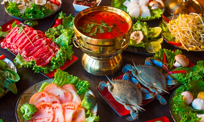 Two Birds One Stone - North Side: $18 for $30 Worth of Chinese Hot Pot Food at Two Birds One Stone