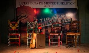 La Taberna de Mister Pinkleton: Espectáculo flamenco con bebida para 2 y opción a cena premium con vino desde 24,95 € en la Taberna de Mister Pinkleton