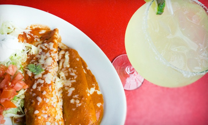 Across the Street - ATLANTA: Mexican Dinner for Two or Four with Margaritas at Across the Street (Up to 56% Off). Four Options Available.