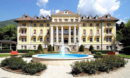 Levico Terme: soggiorno in Classic/Comfort con mezza pensione e ingresso Spa per 2 al Grand Hotel Imperial 4*