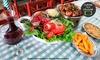 Galeteria Serrana - Brasília: Galeteria Serrana – Asa Sul: almoço ou jantar com rodízio de galeto para 2 pessoas