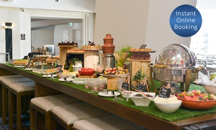 Weekend High Tea Buffet + Sparkling Wine for 2 ($79), 4 ($158) or 6 ($237) at 5* Crossroads Bar Swissôtel (Up to $474)