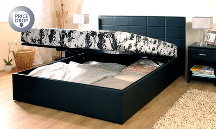 Ottoman Bed Frame (from £109.99) with Mattress (from £179.99)...