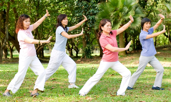 Taiji Center - Multiple Locations: Four or Eight Weeks of Taiji (Tai Chi)Classes at Taiji Center (Up to 62% Off)