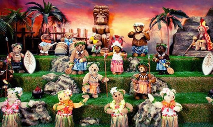 Teddy Bear World Hawaii - Honolulu: Museum Outing for Two, Four, or Six at Teddy Bear World Hawaii (Up to 59% Off)