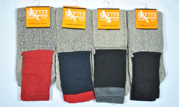 H & A Enterprise - Bassett: $14 for 12 Pairs of Thermal Socks at H & A Enterprise ($24 Value)