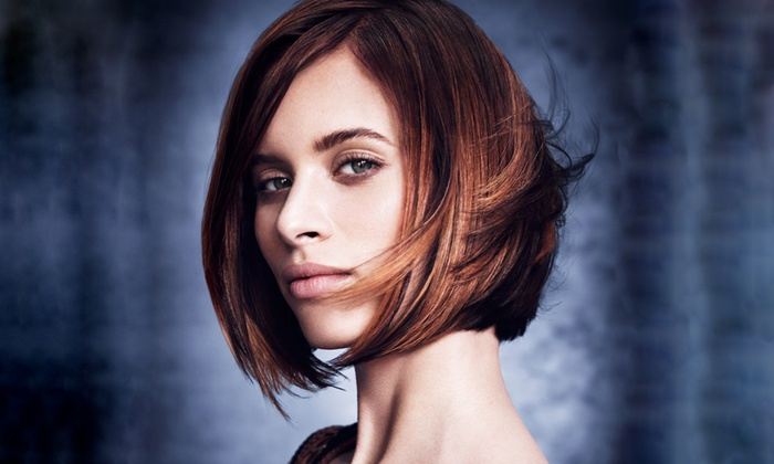 Lux Aveda Salon/Spa - Downtown Fullerton: Salon Services at Lux Aveda Salon/Spa (Up to 51% Off). Two Options Available.