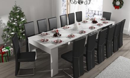 table extensible en 3 couleurs groupon. Black Bedroom Furniture Sets. Home Design Ideas