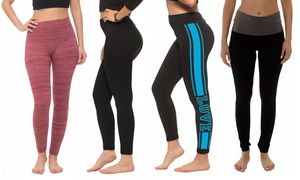 Coco Limon Women's Leggings (4-Pack)  at Coco Limon Women's Leggings (4-Pack) , plus 6.0% Cash Back from Ebates.