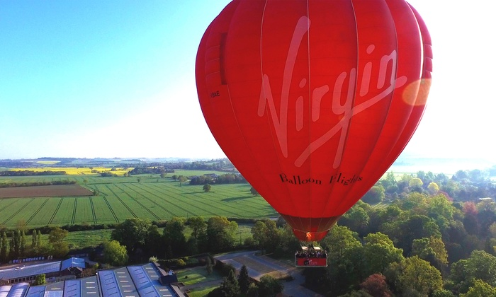 Virgin Balloon Flights - Multiple Locations: Virgin National Balloon Flight for One or Two with Virgin Balloon Flights, Multiple Locations (52% Off)