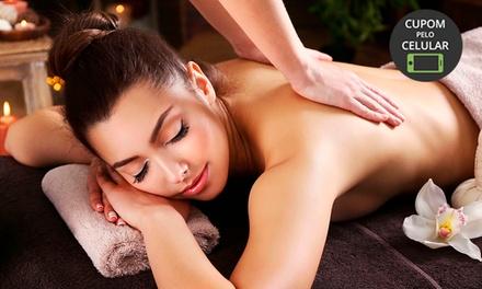até 8 sessões de massagem relaxante, drenagem linfática ou massagem modeladora na Mardan Estética Água Fria