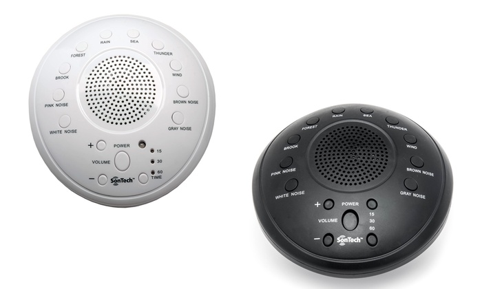 Up To 63% Off on SonTech White Noise Machine | Groupon Goods