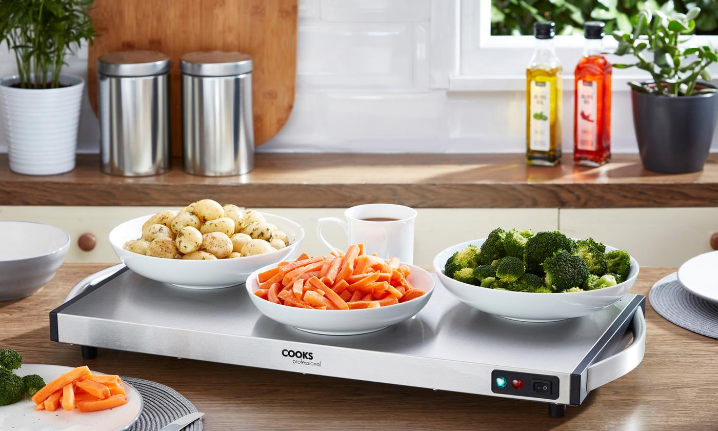 Cooks Professional Cordless Food Warming Tray