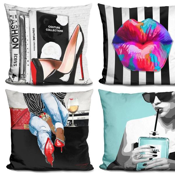 Du Jour Decorative Throw Pillow By Jodi. Multiple Options Available.