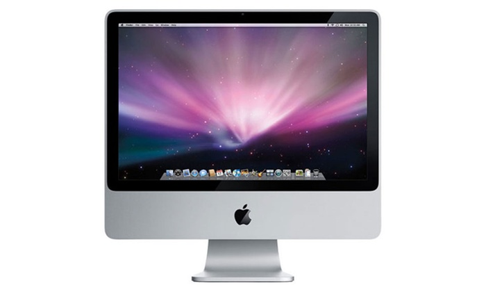apple imac 24 core 2 duo groupon. Black Bedroom Furniture Sets. Home Design Ideas