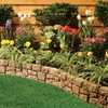 10 Foot Stone Wall Garden Border
