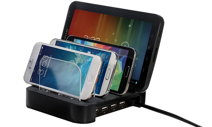 Up To 38 Off On Bytech 4 Usb Charging Station