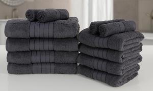 Lot serviettes nuances gris