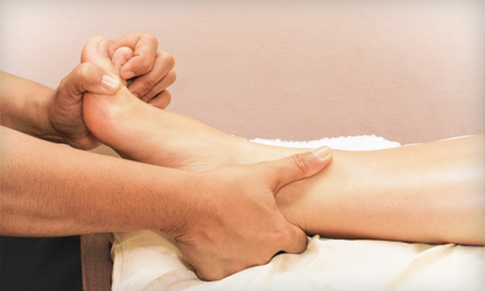Cherry Blossom Spa & Foot Reflexology - San Diego: One or Three 60-Minute Reflexology Foot Massages at Cherry Blossom Spa & Foot Reflexology (54% Off)