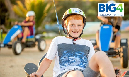 Moruya Heads, NSW: Up to 5-Night Family Bungalow Break with Pedal Cart Hire at BIG4 - Moruya Heads Easts Dolphin Beach