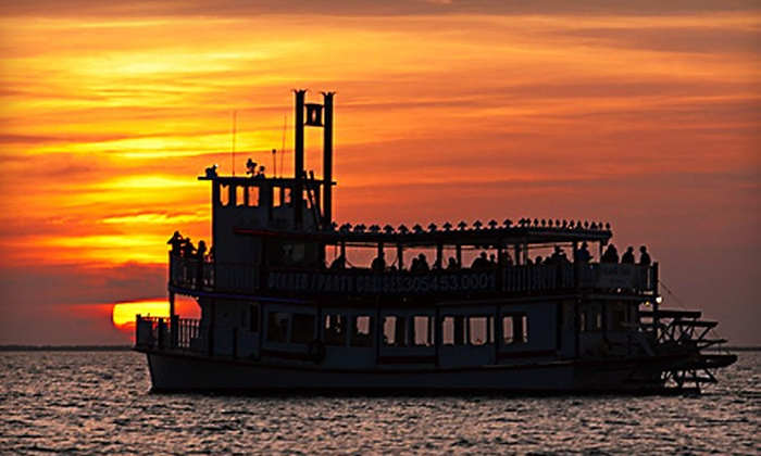 Island Time Cruises - Key Largo: $15 for a Two-Hour Sunset Cruise for One with One Drink Voucher from Island Time Cruises in Key Largo (Up to $35 Value)