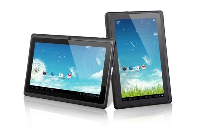 """Tablette Android 7"""" et carte micro SD 32 Go en option dès 59.99€ (jusqu'à 61% de réduction)"""