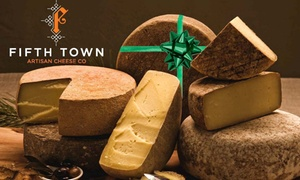 Fifth Town Artisan Cheese: Up to 56% Off 3 or 5 Cheese Package  at Fifth Town Artisan Cheese