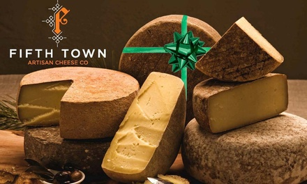 Up to 47% Off 3 or 5 Cheese Package  at Fifth Town Artisan Cheese