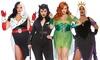 Leg Avenue Women's Super-Villain Plus Size Costume