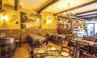 Menu romano tipico da Osteria con porchetta di Ariccia e vino, fino a 6 persone, da Osteria 'O Tinello'