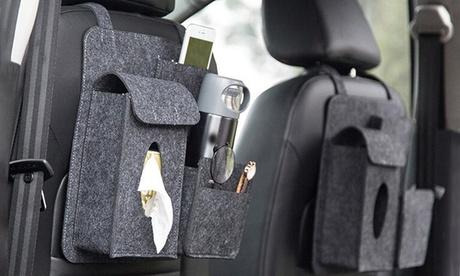 1x oder 2x Rücksitz-Organizer für Auto aus Filz