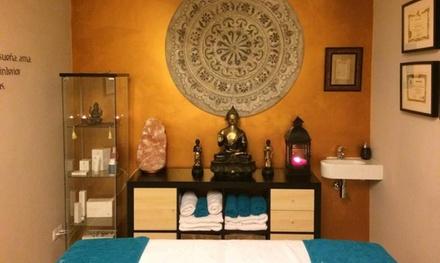 3 o 5 sesiones de masaje a elegir entre antiestrés, linfático o shiatsu desde 39,95 € en Shanti Nilaya