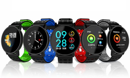 $39.95 for a T3 Waterproof Smartwatch Activity Fitness Tracker with HR, Blood Oxygen and Blood Pressure Monitor