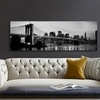 Panoramic City Skylines Gallery Wrapped Canvas