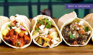 Brushfire Tacos: $15 for Three Groupons, Each Good for $8 Worth of Tacos at Brushfire Tacos y Tapas ($24 Value)