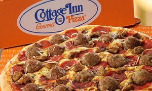 Cottage Inn Pizza: $12 for $20 Worth of Pizza, Wings, Subs, and Italian Food at Cottage Inn Pizza. Valid only at Farmington & Commerce Charter Locations