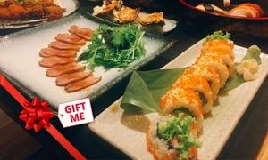 Ryo Japanese Izakaya: 7-Course Japanese Feast with Wine for 2 ($69), 4 ($137) or 8 People ($274) at Ryo Japanese Izakaya (Up to $500 Value)