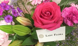 Lady Flora: £30 or £50 to Spend on Bouquets