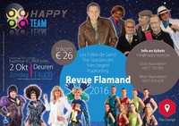 Toegangstickets voor Revue Flamand 2016 te Eeklo