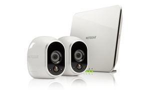 Netgear Arlo Smart Security System with 2 HD Cameras (Mfr. Refurb.)