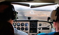 30-Minute Flying Lesson with One-Year Basic Membership (51% Off)