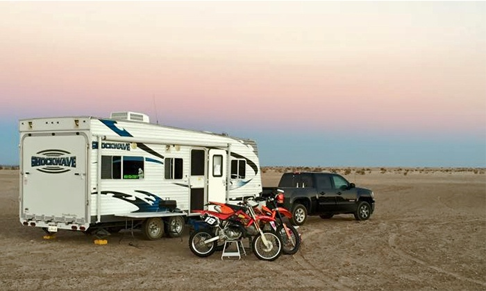 Code 3 RV - Temecula: Four- or Five-Day Travel-Trailer Rental at Code 3 RV (30% Off)