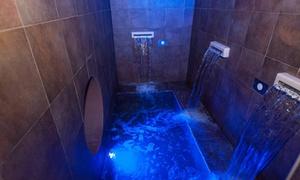 RE AQVA SPA: Percorso spa per 2 persone con massaggio fino a 50 minuti e possibilità di cena, da Re Aqva Spa (sconto fino a 65%)