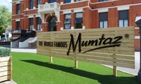 Two-Course Indian Meal for Two or Four with Optional Poppadom Platter to Share at Mumtaz Manchester (Up to 53% Off)