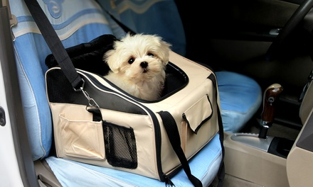 Portable Pet Car Carrier Booster Seat: Large $29.95 or Extra Large $35