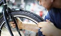 Fahrradinspektionfür 1 oder 2 Fahrräder bei Fahrrad Flössel (bis zu 44% sparen*)