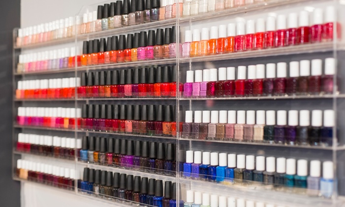 Salon 9nb - North Side: One or Two No-Chip Manicures or One or Two Regular Mani-Pedis at Salon 9nb (Up to 38% Off)