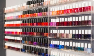 Salon 9nb: One or Two No-Chip Manicures or One or Two Regular Mani-Pedis at Salon 9nb (Up to 32% Off)