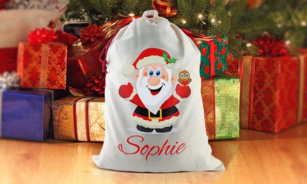 Personalised Christmas Santa Sack $19.99 or Tote Bag $8.99 Don't Pay up to $49.99